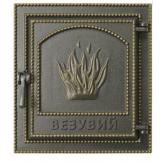 Дверка каминная Везувий 211 цвет бронза