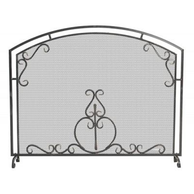 Экран каминный кованый Везувий C120 Ч