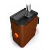 Печь для бани TMF (Термофор) Аврора Inox ДА Иллюминатор терракота