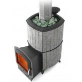 Печь для бани TMF (Термофор) Альфа Гардарика Inox ЧДБСЭ ЗК серый гранит