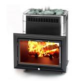 Печь для бани TMF (Термофор) Витрувия Inox БСЭ антрацит НВ