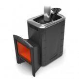 Печь для бани TMF (Термофор) Гейзер 2014 Inox Витра ЗК антрацит