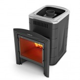 Печь для бани TMF (Термофор) Компакт 2013 Inox Витра антрацит