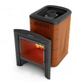 Печь для бани TMF (Термофор) Компакт 2013 Carbon Витра терракота