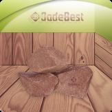 Малиновый кварцит колотый Шокша камни для банных печей