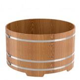 Купель для бани Bentwood круглая, диаметр 1,5 м высота 1м из дуба натурального