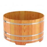 Купель для бани Bentwood круглая,  диаметр 1,8 м высота 1,2 м из лиственницы натуральной