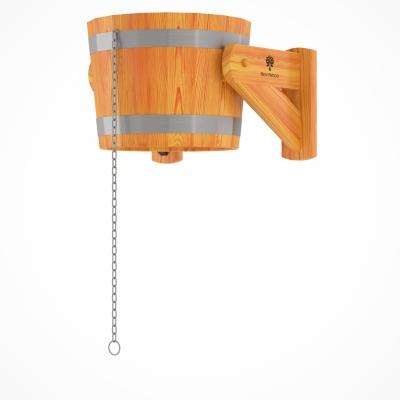 Обливное устройство BentWood 20 л из лиственницы натуральной