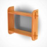 Полка для бани Bentwood из лиственницы натуральной (модель2)