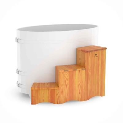 Подиум для купели Bentwood из лиственницы (вариант 2)