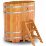 Купель для бани Bentwood овальная 0,80х1,42х1,4 м из лиственницы