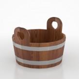 Шайка для бани  BentWood из лиственницы  мореной