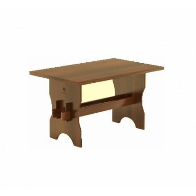 Стол для бани Bentwood 110х70х75см из лиственницы  мореной