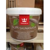 Пропитка антисептическая Supi Saunasuoja для стен и потолка, Финляндия, объем 2.7л