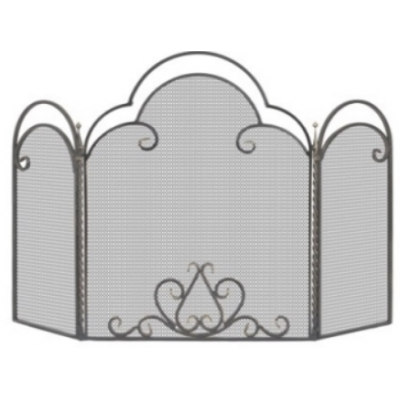 Экран каминный Кованый Везувий C130B