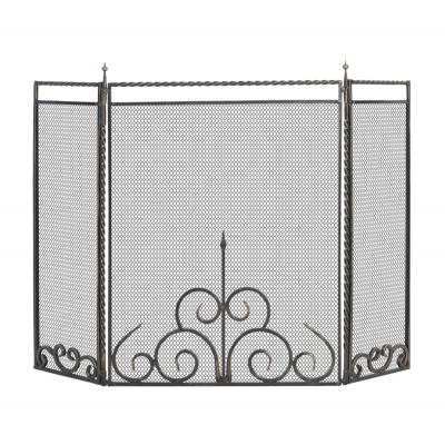 Экран каминный кованый Везувий C110B