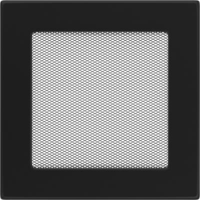 Вентиляционная решетка Kratki Черная (17*17) 17C