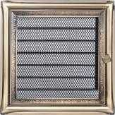 Вентиляционная решетка Kratki каминная Рустик с жалюзи (17*17) 17RX