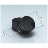 Заглушка глухая М Agni эмалированная, d=115 сталь 0,8мм