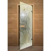 Дверь для сауны АКМА фьюзинг Весна 700*1900