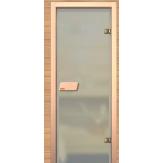 Дверь для сауны АКМА Linden серое 690*1990 липа