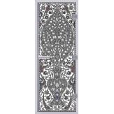 Стеклянная дверь в хамам АКМА 60G с рисунком Турецкий-2 790*1990