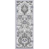 Стеклянная дверь в хамам АКМА 60G с рисунком Турецкий-3 790*1990