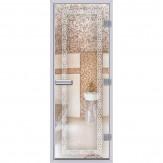 Дверь АКМА Хамам 60G стекло Бесцветное 80*200