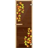 Дверь для сауны АКМА серия Ajio 700*1900 Осень