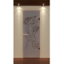 Дверь для сауны Aldo Стандарт 690х1890 с рисунком на выбор, коробка термобук 92*42