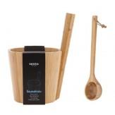Запарник для бани и сауны бамбуковый Rento, артикул 206756