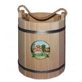 Ведро для бани деревянное из липы 18 л