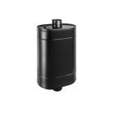 Бак Black для нагрева воды на трубе 80л д.115 (Овальный)