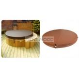Термо-крышка для купелей BentWood диаметром 120-150 см