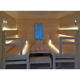 Комплект освещения для бани Cariitti Сауна Линеар VPL30C-8M со сменой цветов (4 линейки по 2 м) арт.1516653