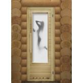 Дверь для бани и сауны DoorWood Элит Искушение