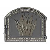Дверка каминная Везувий 218 цвет бронза