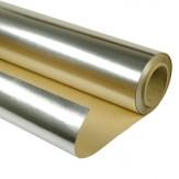 Фольга алюминиевая на бумажной основе рулон 30 м2 1,15*26 м.п.