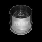 Заглушка для ревизии (внутренняя) Ferrum Ф=130 мм из стали AISI 430 0,5мм
