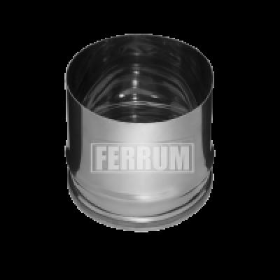 Заглушка для ревизии (внутренняя) Ferrum Ф=115 мм из стали AISI 430