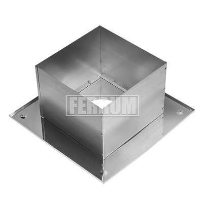Потолочно проходной узел составной Ferrum AISI 430 0,5 мм Ф200