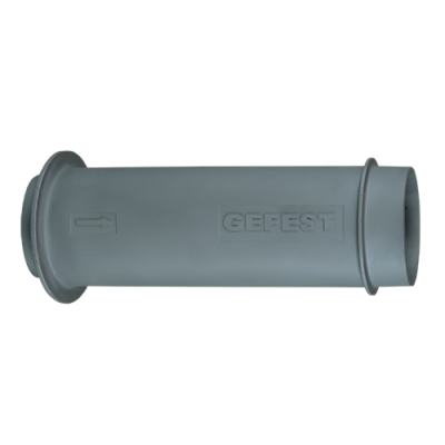 Труба Гефест стартовая чугунная Ф 150 L-500 для печей ПБ-02
