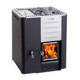 Дровяная печь Harvia 20 RS Pro (бак 30 л справа)