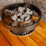 Электрическая печь Harvia Cilindro PC70 black steel
