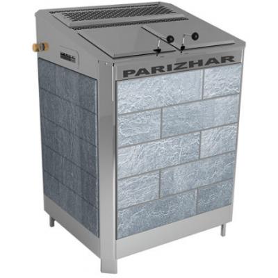 Электрическая паротермальная печь Пар и Жар 12 кВт в облицовке из талькохлорита антик