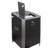 Электрическая паротермальная печь Пар и Жар 6,25 кВт black version
