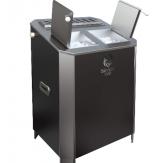 Электрическая паротермальная печь Пар и Жар 16 кВт black version