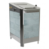 Электрическая паротермальная печь Пар и Жар 4,25 кВт в облицовке из талькохлорита антик