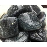 Пироксинит шлифованный камень для бани и сауны 1кг в пластиковом ведре