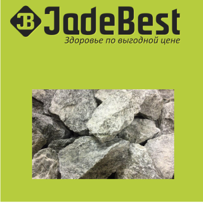 Талькомагнезит колотый камни для банных печей